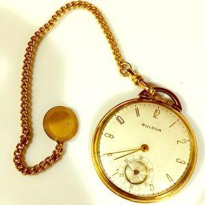 Elegant BULOVA antique pocket watch